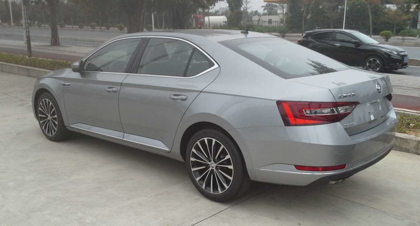 Skoda superb, skoda superb design, skoda superb image